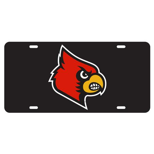 Louisville Tag (BLK/REF CARDINAL HEAD TAG (36503))