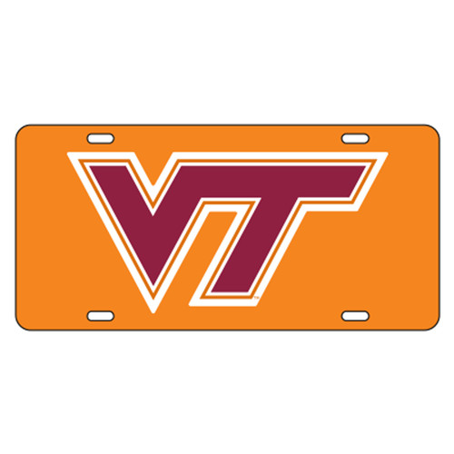 Virginia Tech TAG (ORANGE/REF WINE VT TAG (34013))
