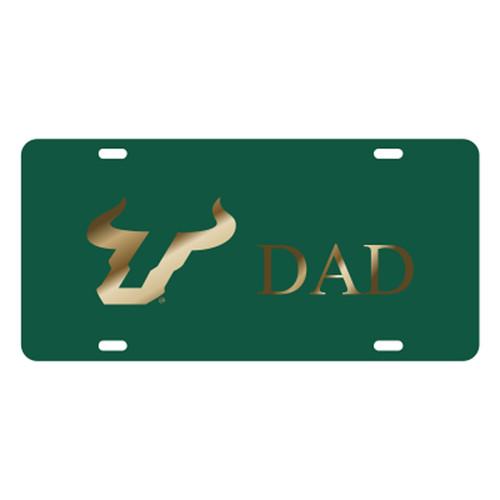 South Florida TAG (LASER GRN ACR/GLD BULLS DAD (32151))