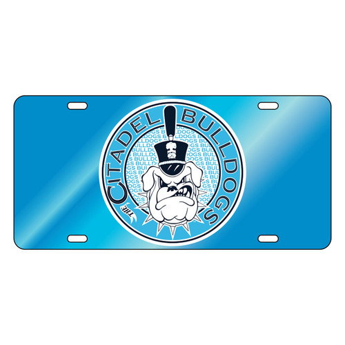 Citadel Bulldogs Tag (LT BLU/REF CITADEL BULLDOG TAG (31507))