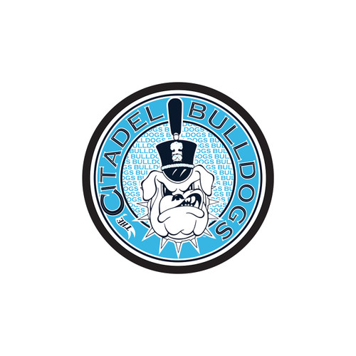 Citadel Bulldogs Hitch Cover (THE CITADEL ROUND HITCH COVER (31598))