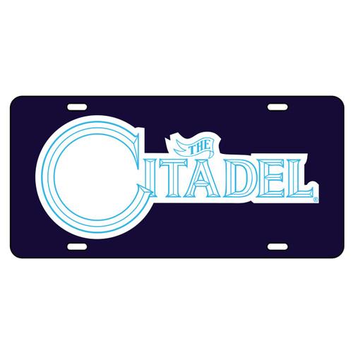 Citadel Bulldogs Tag (DK BLU/REF CITADEL TAG (31535))