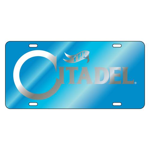 Citadel Bulldogs Tag (LASER BLU/SIL CITADEL TAG (31501))