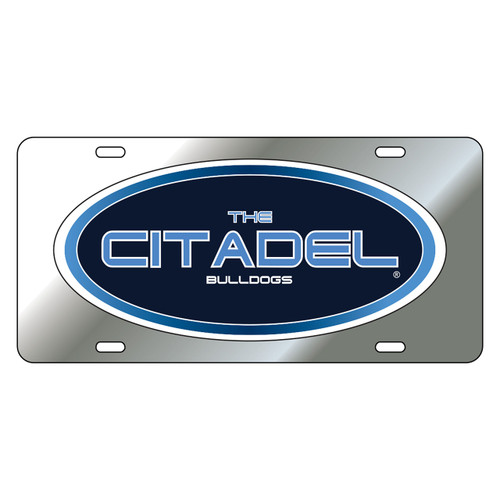 Citadel Bulldogs Tag (DOMED THE CITADEL TAG (31604))