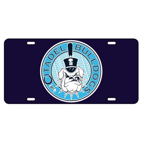 Citadel Bulldogs Tag (DK BLU/REF CITADEL BULLDOG TAG (31505))