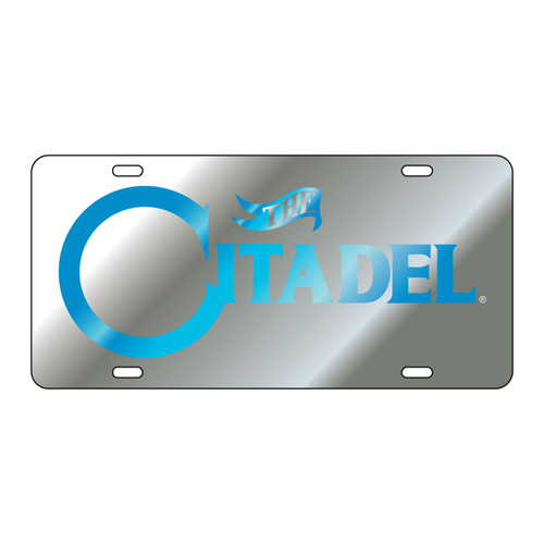 Citadel Bulldogs Tag (LASER SIL/BLU CITADEL TAG (31500))