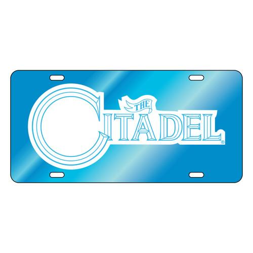 Citadel Bulldogs Tag (LT BLU/REF CITADEL TAG (31504))