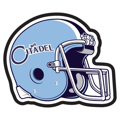 Citadel Bulldogs Hitch Cover (CITADEL HELMET HITCH (31597))
