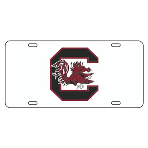 South Carolina TAG (WHT/REF C GAMECOCK TAG (31001))