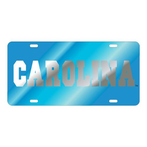 North Carolina TAG (LASER BLU/SIL CAROLINA (30045))