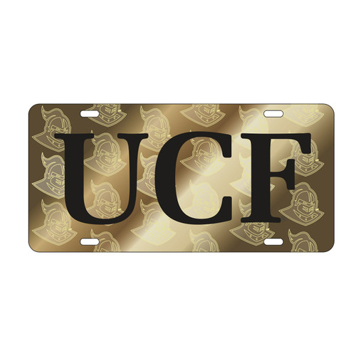Central Florida Golden Knights Tag (LASER UCF SATIN SYMBOL BACK TA (29045))