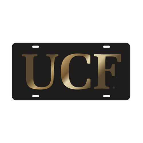 Central Florida Golden Knights Tag (LASER BLK/GLD UCF (29013))