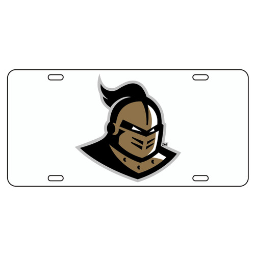 Central Florida Golden Knights Tag (WHT/REF GLD KNIGHTHEAD TAG (29003))