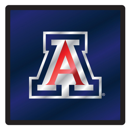 Arizona Wildcats Hitch Cover (DOMED MIR ARIZONA SQUARE HIT (28575))