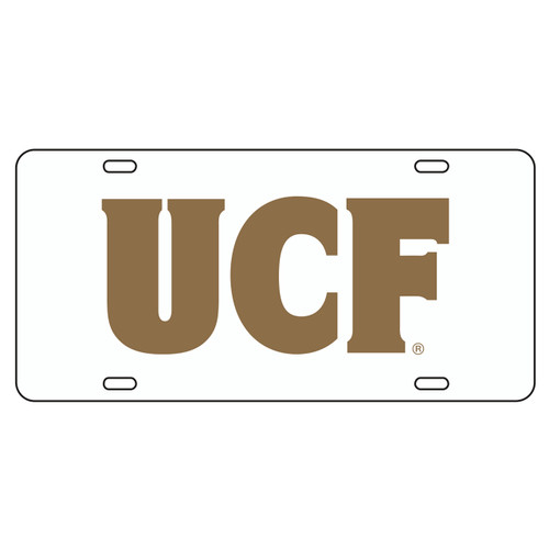 Central Florida Golden Knights Tag (WHT/REF GLD UCF TAG (29006))