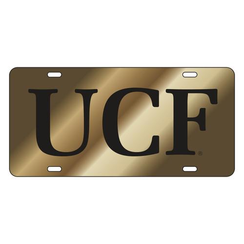 Central Florida Golden Knights Tag (LASER GLD/BLK UCF (29012))