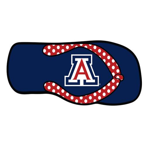 Arizona Wildcats Hitch Cover (DOMED ARIZONA FLIPFLOP HITCH (28511))