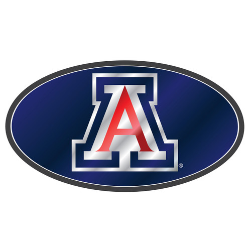 Arizona Wildcats Hitch Cover (DOMED MIR ARIZONA HITCH COVER (28516))