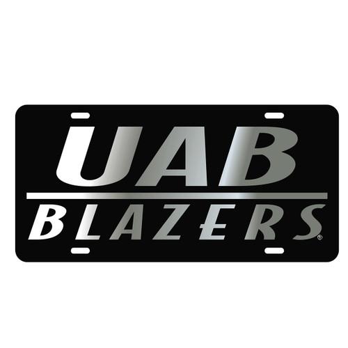 Alabama Birmingham Blazers Tag (LASER BLK/SIL UAB BLAZERS TAG (27556))