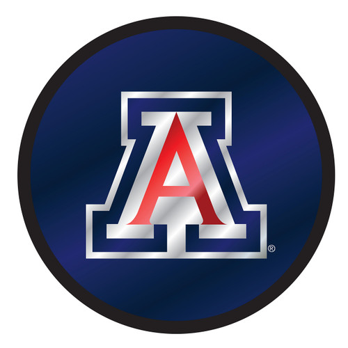 Arizona Wildcats Hitch Cover (DOMED MIR ARIZONA ROUND HIT (28576))