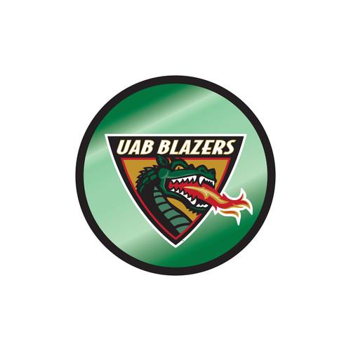 Alabama Birmingham Blazers Hitch Cover (MIR DOMED UAB ROUND HITCH (27647))