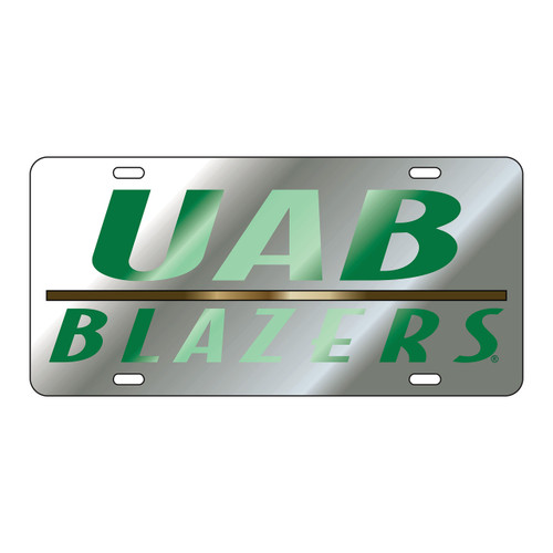 Alabama Birmingham Blazers Tag (LASER SIL/GRN UAB BLAZERS TAG (27506))