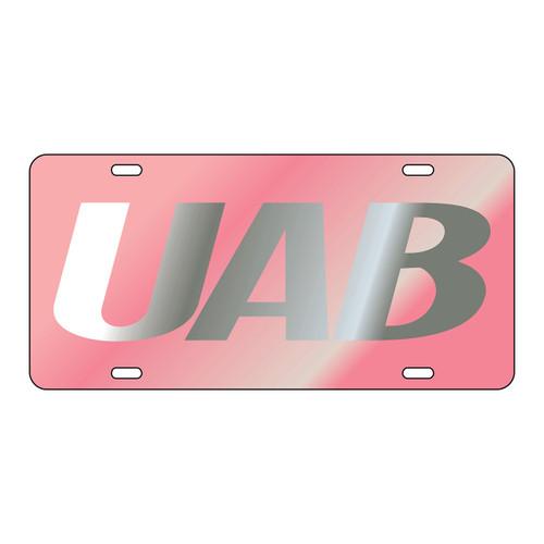 Alabama Birmingham Blazers Tag (LASER PINK/SIL UAB TAG (27558))