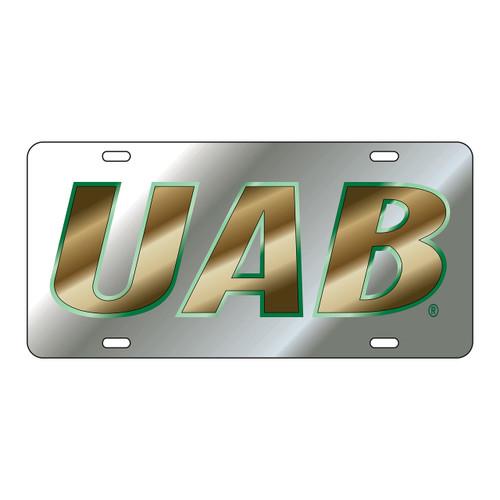 Alabama Birmingham Blazers Tag (LASER SIL/GRN/GLD UAB TAG (27505))