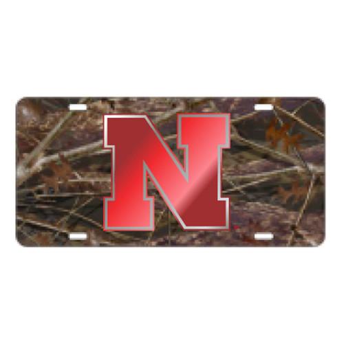 Nebraska TAG (LASER CAMO N-HUSKER TAG (27130))