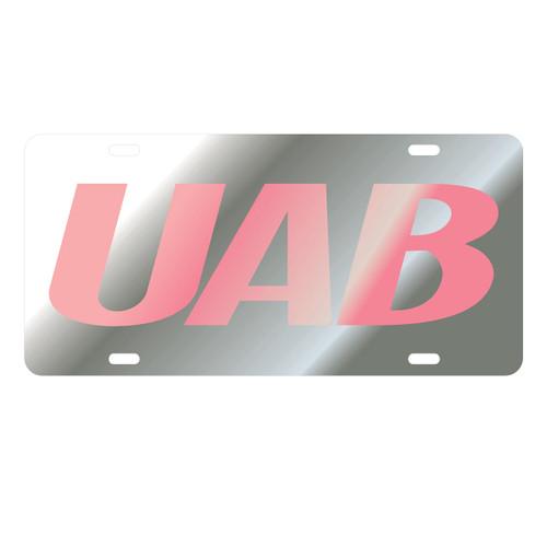 Alabama Birmingham Blazers Tag (LASER SIL/PINK UAB TAG (27559))