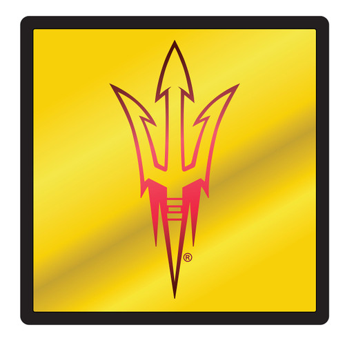 Arizona State Sun Devils Hitch Cover (DOMED MIR ASU SQUARE HITCH_26692)