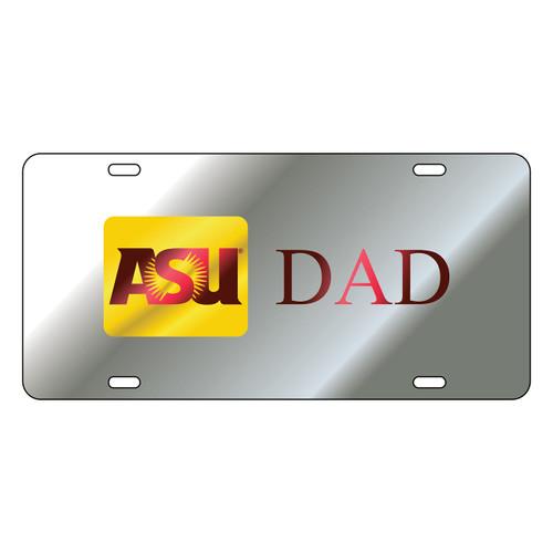 Arizona State Sun Devils Tag (LASER SIL ASU DAD TAG (26678))