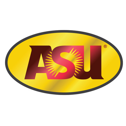 Arizona State Sun Devils Hitch Cover (DOMED MIR WINE/YEL ASU HITCH_26610)