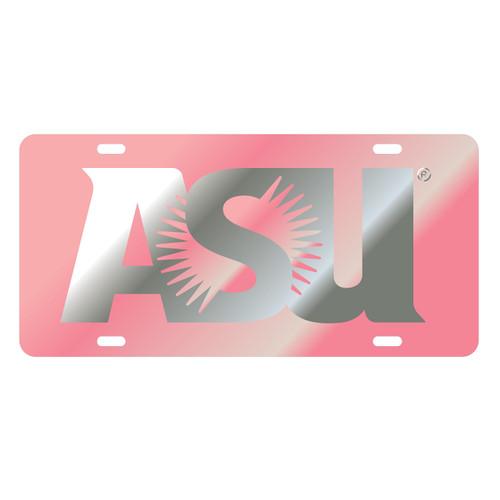 Arizona State Sun Devils Tag (LASER PINK/SIL ASU TAG (26601))