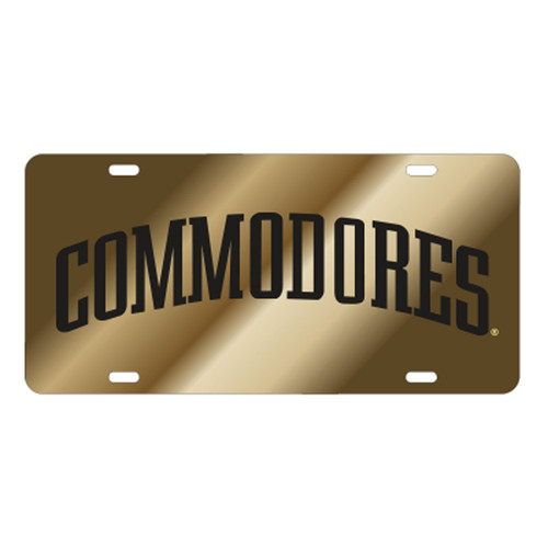 Vanderbilt TAG (LASER GLD/BLK COMMODORES (25517))