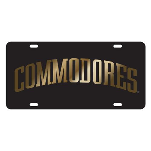 Vanderbilt TAG (LASER BLK/GLD COMMODORES (25516))