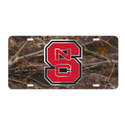 North Carolina State TAG (LASER CAMO NCS TAG (26118))