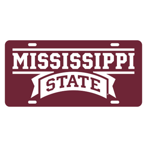 Mississippi State TAG (MAR/REF MISS STATE TAG (25015))