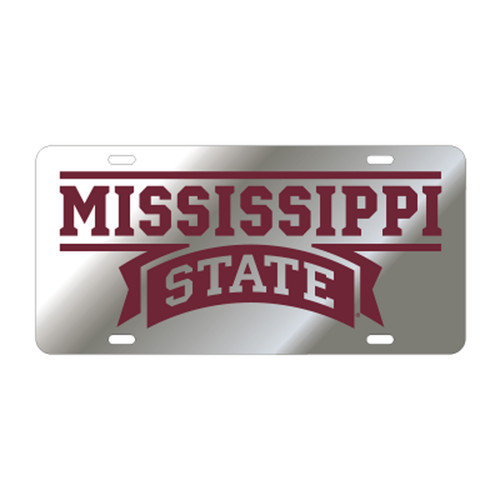 Mississippi State TAG (SIL/REF MISS STATE TAG (25013))