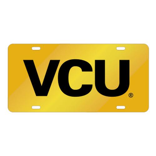 Virginia Commonwealth TAG (LASER YEL/BLK VC TAG (24612))
