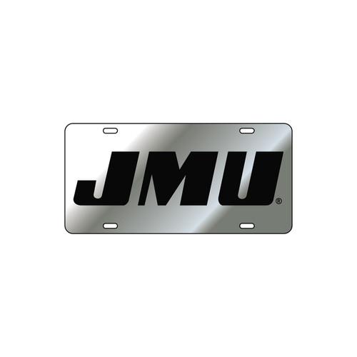 James Madison Tag (LASER SIL/BLK JMU (24515))
