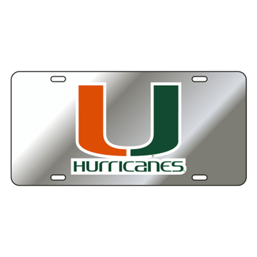 Miami TAG (REF SIL/ORG/GRN U HURRICANES T (23509))