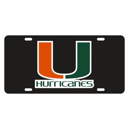 Miami TAG (REF BLK/ORG/GRN U HURRICANES T (23501))