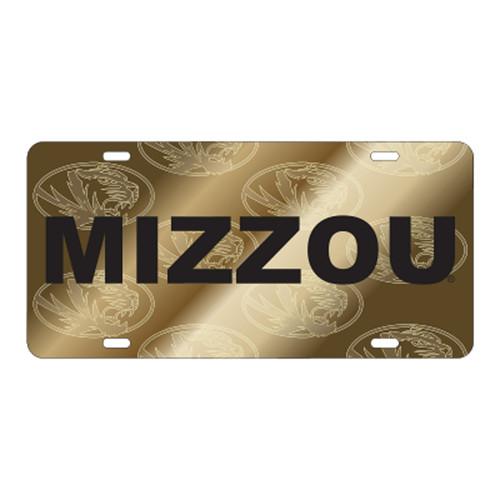 Missouri TAG (LASER MIZZOU SATIN SYM BK TAG (22555))