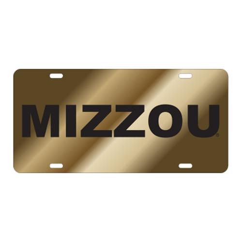 Missouri TAG (LASER GLD/BLK MIZZOU TAG (22517))