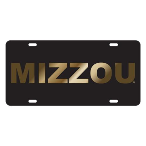 Missouri TAG (LASER BLK/GLD MIZZOU TAG (22516))