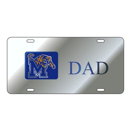 Memphis Tag (LASER SIL/BLUE M TIGER DAD (22194))