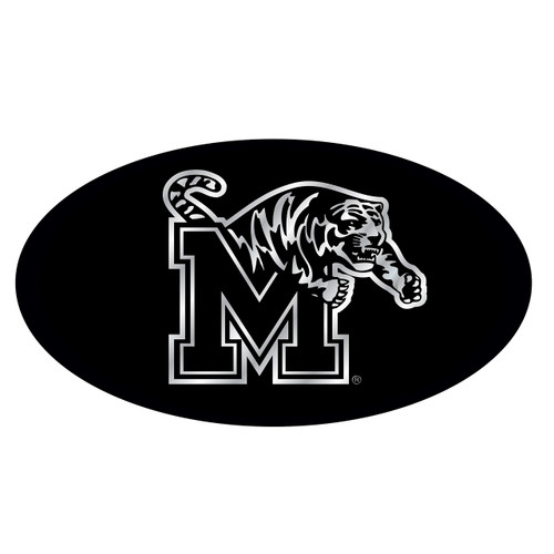 Memphis Hitch Cover (BLK/SIL M TIGER HITCH COVER (22126))