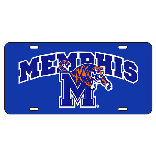 Memphis Tag (BLU/REF MEMPHIS M TIGER TAG (22021))
