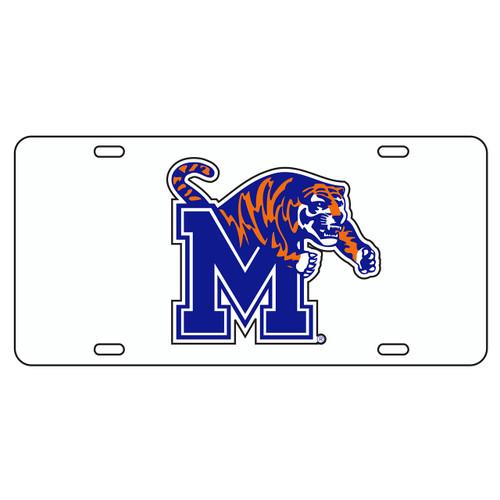 Memphis Tag (WHT/REF BLUE M TIGER TAG (22001))